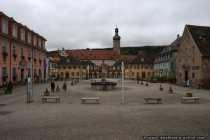Der Marktplatz in Weikersheim