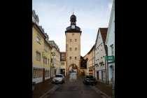 Der Gaensturm mit der barocken Haube in Weikersheim