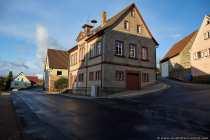 Rathaus Harthausen im Ortskern