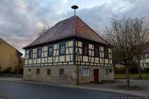 Das Rathaus in Nassau - Weikersheim
