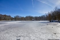 Am Rand der kleinen Gemeinde Marstadt auf zirka 315 Meter über Normalhöhennull befindet sich der 1,9 Hektar große Marstadter See im Naherholungsgebiet. [EOS5D Mark4 | ISO100 | f6,3 | 1/640s | 16mm]
