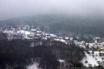 Schneelandschaft im Odenwald