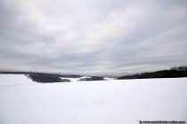 Februar 2019 und der Odenwald versinkt im Schnee.