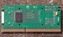 Intel 500MHz CPU Platinenrückseite