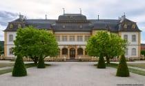 Die Kehrseite vom Schloss Veitshöchheim