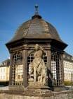 Das Schloss Veitshöchheim wurde im Jahre 2001 bis 2005 aufwändig restauriert und kann von April bis Oktober besichtigt werden.