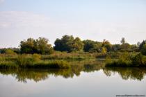 Beim Umrunden des Weihers sind weitere Einbuchtungen, die einen Einblick auf den See (Weiher) gewähren.