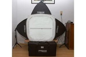 Lichtzelt für Produktfotografie