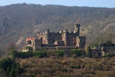 Burg mit Telezoom
