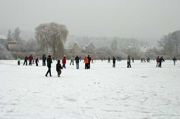 Schnee in Walldürn