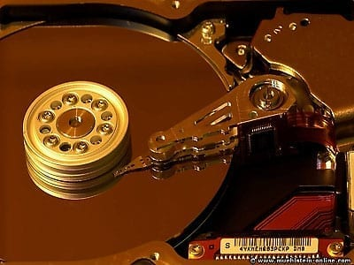 Einblicke in eine Festplatte