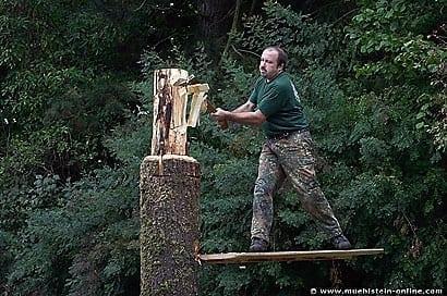 Timbersports in Sindolsheim