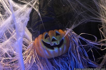 Halloweenbilder und Halloween Dekorationen