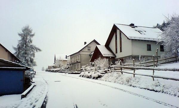 Winter zum Frühlingsbeginn