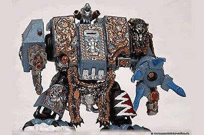 Artwork Miniaturfigur Warhammer Dreadnought