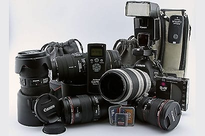Fotografie Equipment
