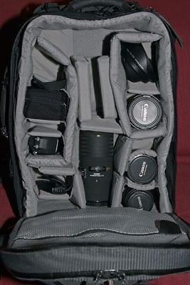 Fotorucksack Lowepro AW II