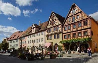 Rothenburg ob der Tauber. Digitale Fotografien von der mittelfränkischen Stadt in Bayern.