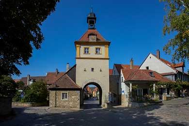 Sommerhausen im Maintal